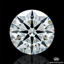 0.803 ct F VS2 A CUT ABOVE® Hearts and Arrows Super Ideal Round Cut Loose Diamond