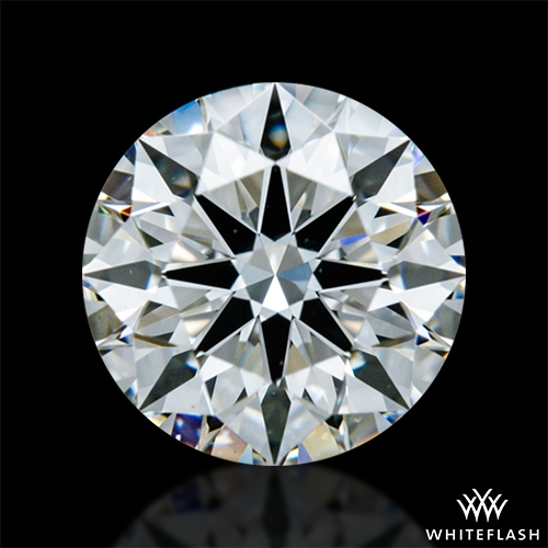 0.816 ct H VS1 A CUT ABOVE® Hearts and Arrows Super Ideal Round Cut Loose Diamond