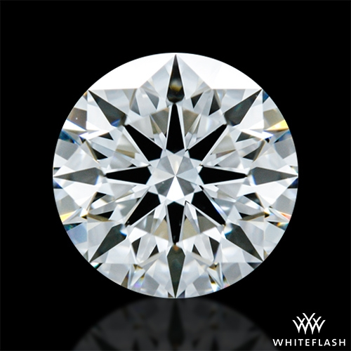 0.901 ct F VVS2 A CUT ABOVE® Hearts and Arrows Super Ideal Round Cut Loose Diamond
