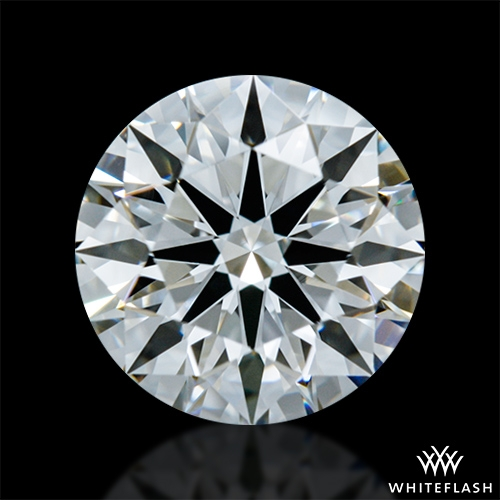 0.903 ct F VVS2 A CUT ABOVE® Hearts and Arrows Super Ideal Round Cut Loose Diamond