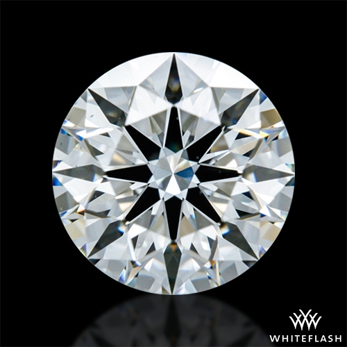 0.928 ct F VS1 A CUT ABOVE® Hearts and Arrows Super Ideal Round Cut Loose Diamond