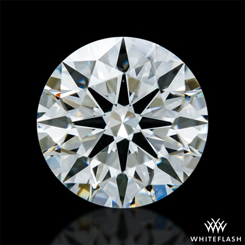 0.914 ct H VS1 A CUT ABOVE® Hearts and Arrows Super Ideal Round Cut Loose Diamond