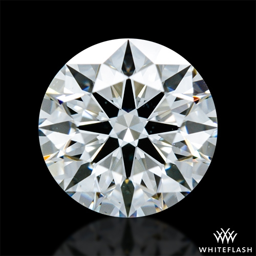 0.905 ct F VS2 A CUT ABOVE® Hearts and Arrows Super Ideal Round Cut Loose Diamond