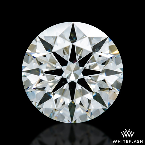 0.904 ct I VS2 A CUT ABOVE® Hearts and Arrows Super Ideal Round Cut Loose Diamond