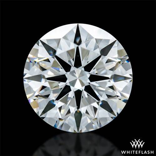 1.203 ct F VS1 A CUT ABOVE® Hearts and Arrows Super Ideal Round Cut Loose Diamond