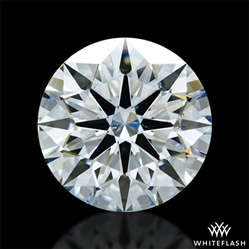 2.424 ct H SI1 A CUT ABOVE® Hearts and Arrows Super Ideal Round Cut Loose Diamond