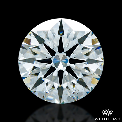 2.378 ct I SI1 A CUT ABOVE® Hearts and Arrows Super Ideal Round Cut Loose Diamond