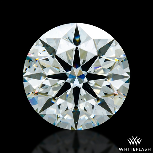 2.18 ct J SI1 A CUT ABOVE® Hearts and Arrows Super Ideal Round Cut Loose Diamond