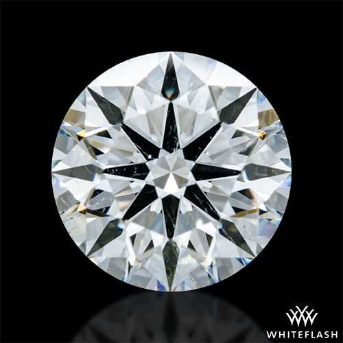 2.118 ct H SI1 A CUT ABOVE® Hearts and Arrows Super Ideal Round Cut Loose Diamond