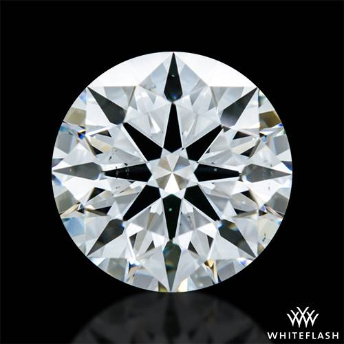 1.411 ct E VS2 A CUT ABOVE® Hearts and Arrows Super Ideal Round Cut Loose Diamond