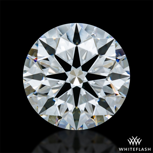1.338 ct E VS1 A CUT ABOVE® Hearts and Arrows Super Ideal Round Cut Loose Diamond