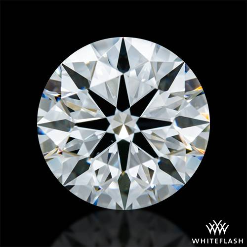 1.203 ct G VVS2 A CUT ABOVE® Hearts and Arrows Super Ideal Round Cut Loose Diamond