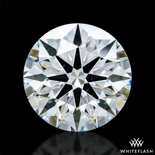 1.108 ct G VS2 A CUT ABOVE® Hearts and Arrows Super Ideal Round Cut Loose Diamond