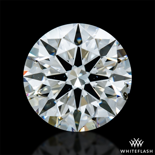 1.105 ct H SI1 A CUT ABOVE® Hearts and Arrows Super Ideal Round Cut Loose Diamond