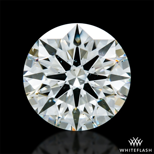 0.71 ct K SI1 A CUT ABOVE® Hearts and Arrows Super Ideal Round Cut Loose Diamond