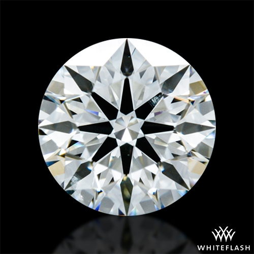 0.682 ct I SI1 A CUT ABOVE® Hearts and Arrows Super Ideal Round Cut Loose Diamond