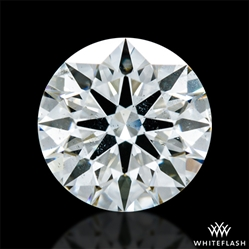 0.671 ct I SI1 A CUT ABOVE® Hearts and Arrows Super Ideal Round Cut Loose Diamond