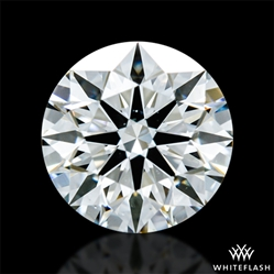 0.671 ct I VS2 A CUT ABOVE® Hearts and Arrows Super Ideal Round Cut Loose Diamond