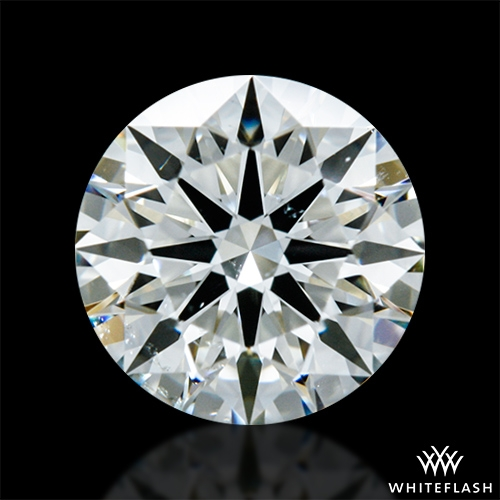 0.678 ct J VS2 A CUT ABOVE® Hearts and Arrows Super Ideal Round Cut Loose Diamond
