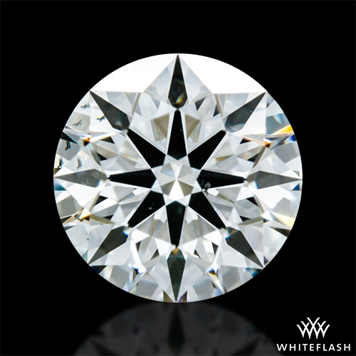 0.673 ct J VS2 A CUT ABOVE® Hearts and Arrows Super Ideal Round Cut Loose Diamond