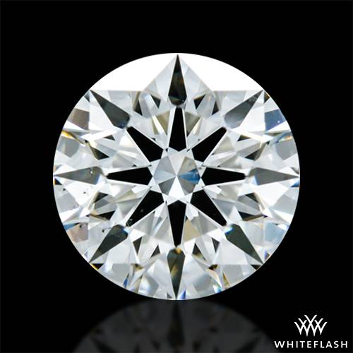 0.66 ct I VS2 A CUT ABOVE® Hearts and Arrows Super Ideal Round Cut Loose Diamond