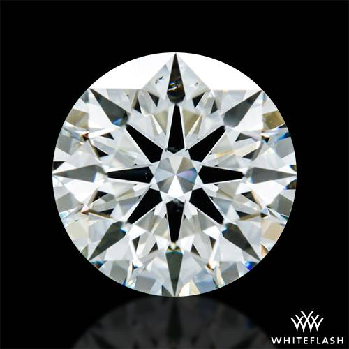 0.668 ct K SI1 A CUT ABOVE® Hearts and Arrows Super Ideal Round Cut Loose Diamond