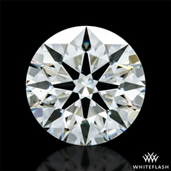 0.663 ct K VS2 A CUT ABOVE® Hearts and Arrows Super Ideal Round Cut Loose Diamond