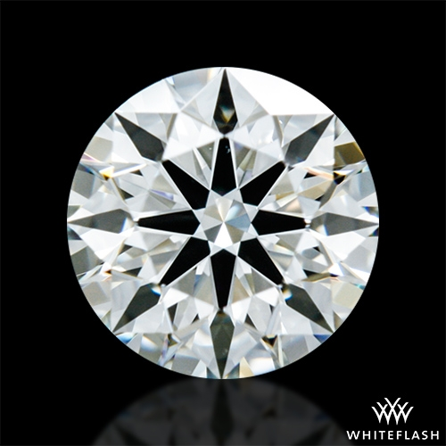 0.643 ct J VS2 A CUT ABOVE® Hearts and Arrows Super Ideal Round Cut Loose Diamond