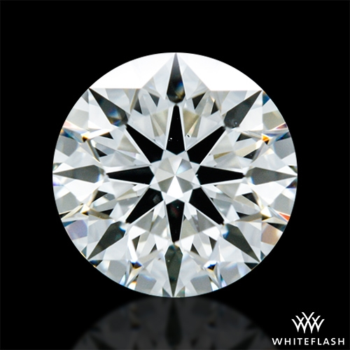 0.64 ct J VS2 A CUT ABOVE® Hearts and Arrows Super Ideal Round Cut Loose Diamond