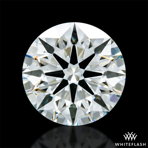 0.624 ct J VS2 A CUT ABOVE® Hearts and Arrows Super Ideal Round Cut Loose Diamond