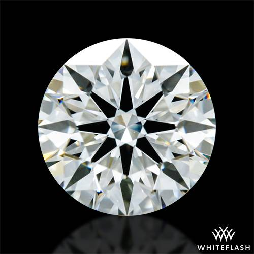 0.62 ct K VS1 A CUT ABOVE® Hearts and Arrows Super Ideal Round Cut Loose Diamond
