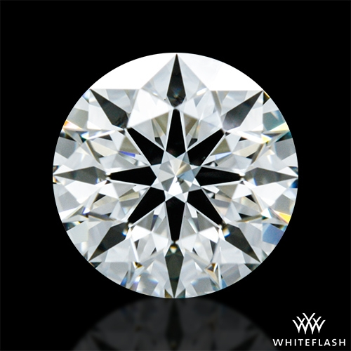 0.803 ct I SI1 A CUT ABOVE® Hearts and Arrows Super Ideal Round Cut Loose Diamond