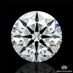 0.746 ct J SI1 A CUT ABOVE® Hearts and Arrows Super Ideal Round Cut Loose Diamond