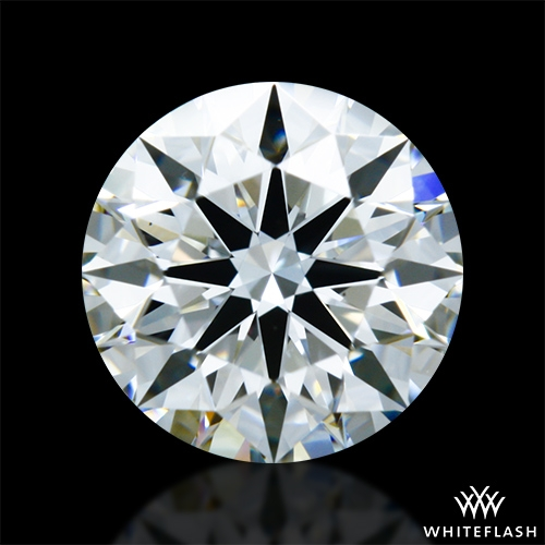 0.821 ct I VS1 A CUT ABOVE® Hearts and Arrows Super Ideal Round Cut Loose Diamond