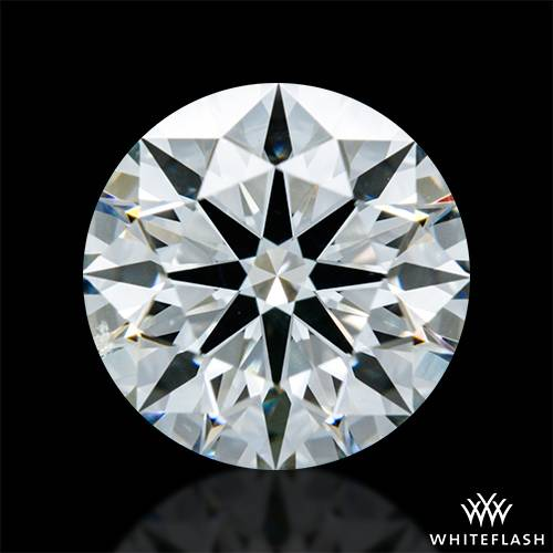 1.228 ct H SI1 A CUT ABOVE® Hearts and Arrows Super Ideal Round Cut Loose Diamond