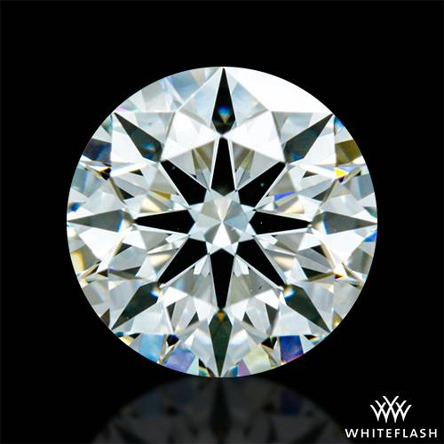 0.524 ct I VS2 A CUT ABOVE® Hearts and Arrows Super Ideal Round Cut Loose Diamond