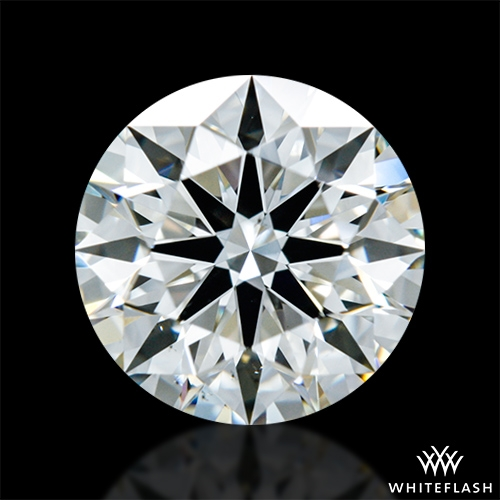 1.038 ct J VS2 A CUT ABOVE® Hearts and Arrows Super Ideal Round Cut Loose Diamond