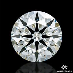 1.017 ct K VS2 A CUT ABOVE® Hearts and Arrows Super Ideal Round Cut Loose Diamond