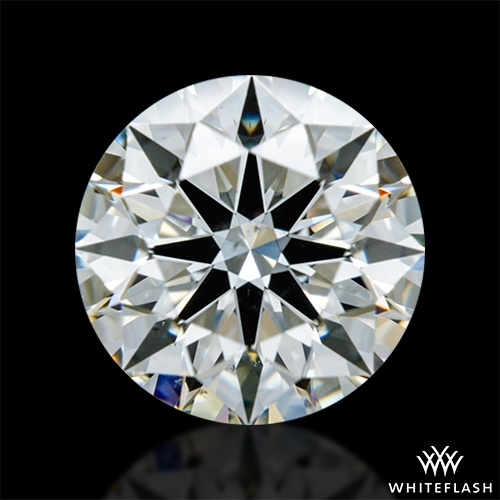 1.023 ct J VS2 A CUT ABOVE® Hearts and Arrows Super Ideal Round Cut Loose Diamond