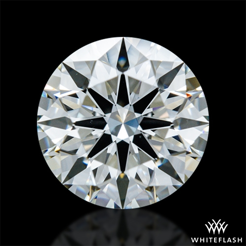 1.014 ct I VS1 A CUT ABOVE® Hearts and Arrows Super Ideal Round Cut Loose Diamond
