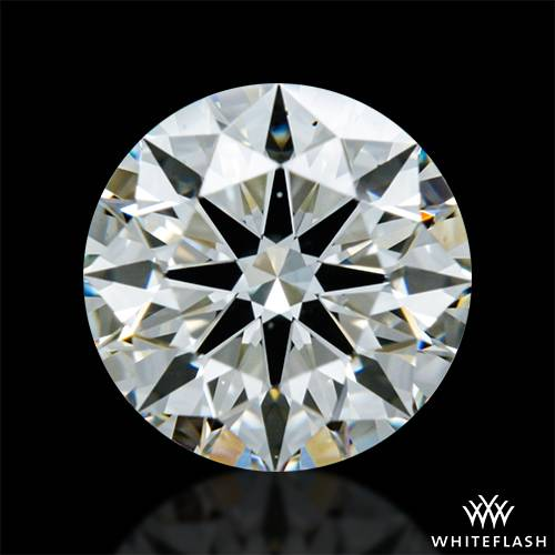 0.901 ct K VS2 A CUT ABOVE® Hearts and Arrows Super Ideal Round Cut Loose Diamond