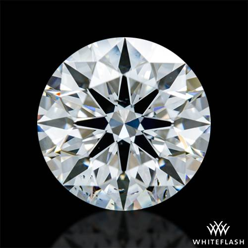 0.913 ct F SI1 A CUT ABOVE® Hearts and Arrows Super Ideal Round Cut Loose Diamond
