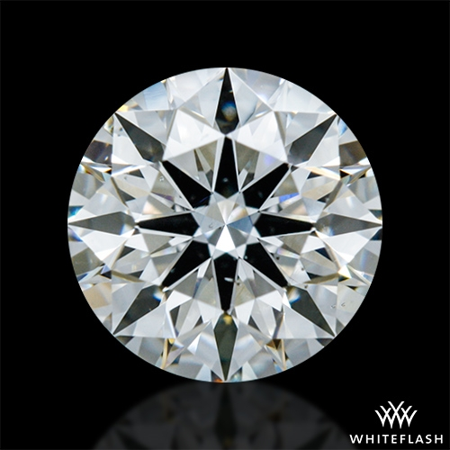 0.923 ct I SI1 A CUT ABOVE® Hearts and Arrows Super Ideal Round Cut Loose Diamond