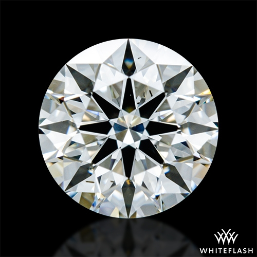 1.518 ct I SI1 A CUT ABOVE® Hearts and Arrows Super Ideal Round Cut Loose Diamond