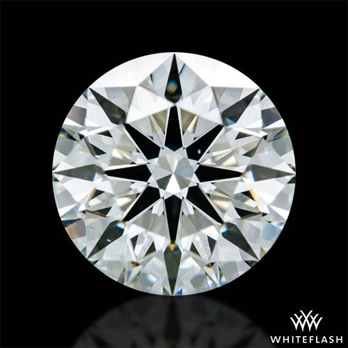 1.283 ct J VS1 A CUT ABOVE® Hearts and Arrows Super Ideal Round Cut Loose Diamond