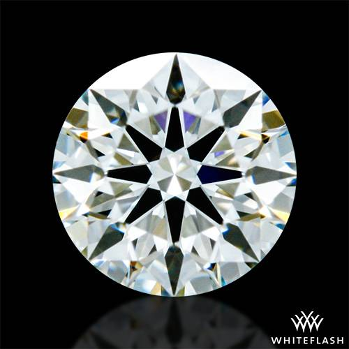 0.317 ct J SI1 A CUT ABOVE® Hearts and Arrows Super Ideal Round Cut Loose Diamond