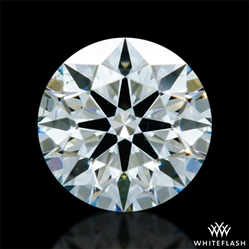 0.367 ct I SI1 A CUT ABOVE® Hearts and Arrows Super Ideal Round Cut Loose Diamond