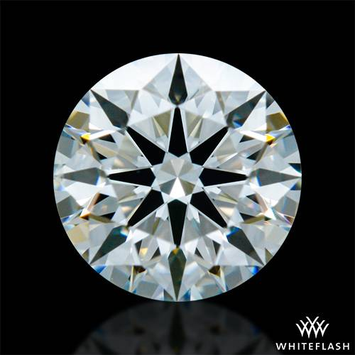 0.517 ct J SI1 A CUT ABOVE® Hearts and Arrows Super Ideal Round Cut Loose Diamond