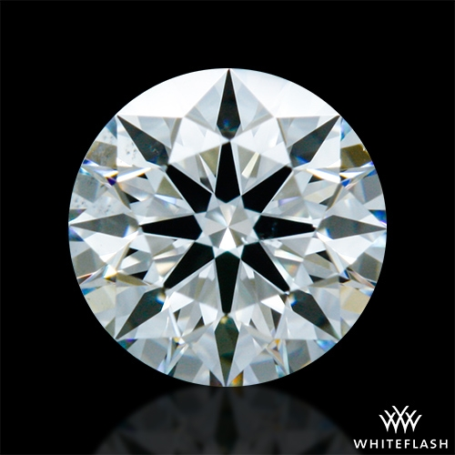 0.398 ct H SI1 A CUT ABOVE® Hearts and Arrows Super Ideal Round Cut Loose Diamond