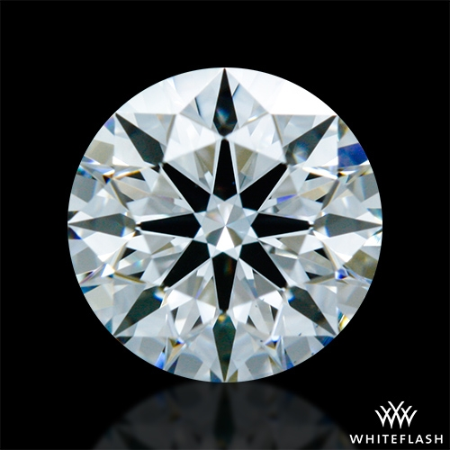 0.758 ct G VS1 A CUT ABOVE® Hearts and Arrows Super Ideal Round Cut Loose Diamond